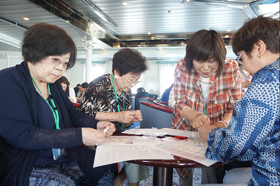 地域で輝け!JA女性組織☆洋上で絆を深めました!