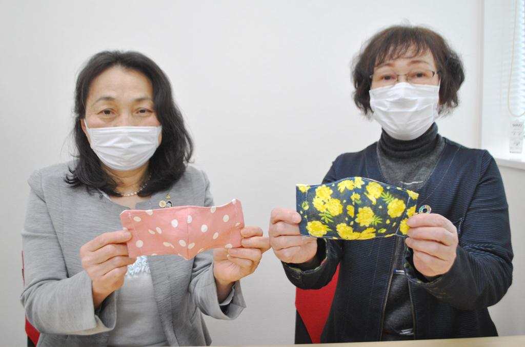 地域で輝け!JA女性組織 手作りマスクで助け合おう!