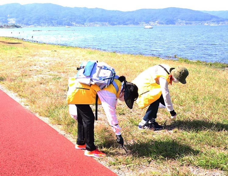 諏訪湖1周、仲間と健康づくりで繋がろう!